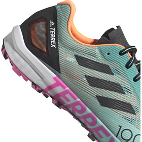 adidas TERREX Speed Pro Trail Running Shoes Men, acid mint/core black/screaming pink